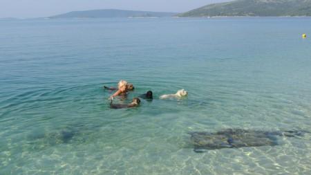 Sol och bad i Kroatien