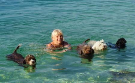 Härliga bad i Kroatien